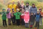 В ноябре месяце дети старших  групп дошкольного учреждения посетили ботанический сад им. В.М. Крутовского.